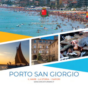 official touristic guide of porto san giorgio cover